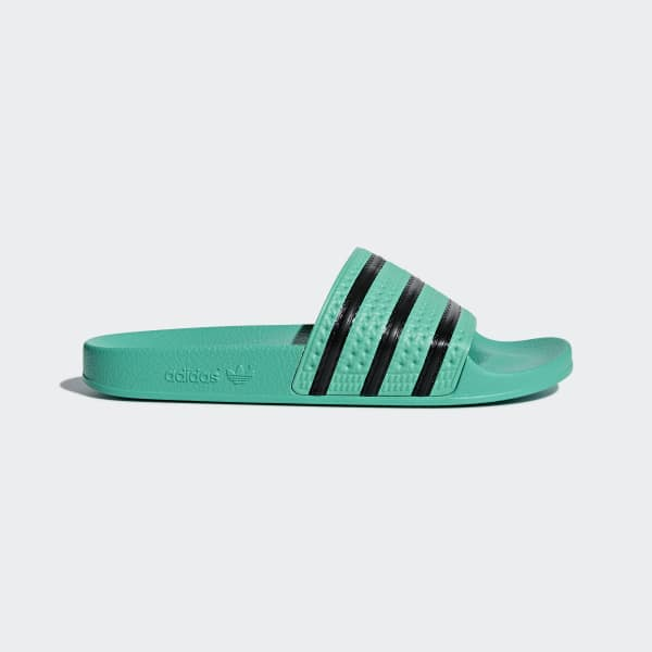 Adilette Slides Green CQ3100