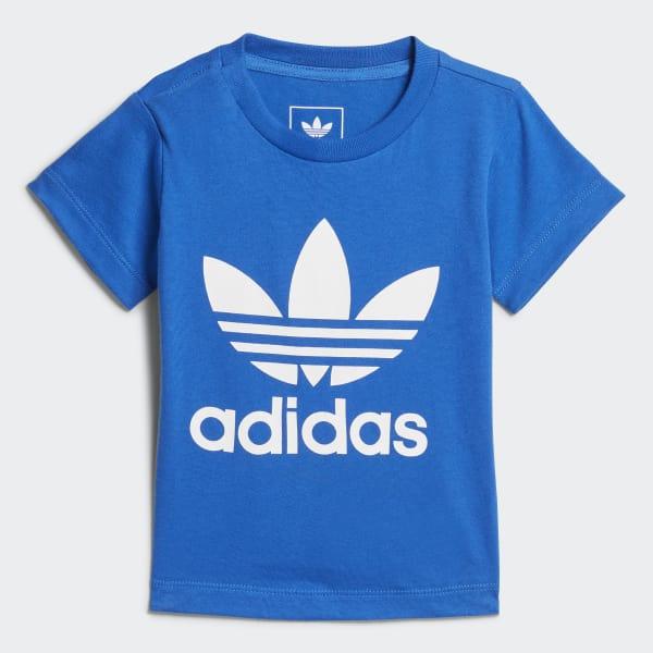 Trefoil T-Shirt blau CE4318
