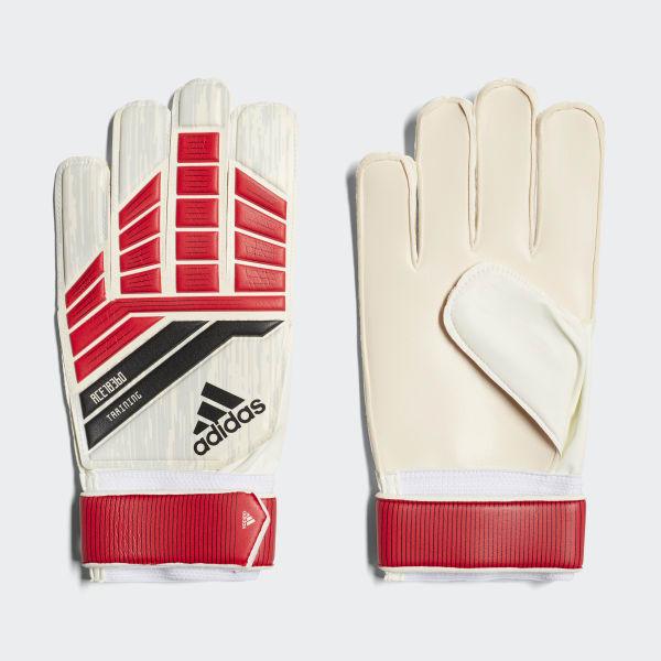 Predator 18 Training Goalkeeper Gloves Red CF1366
