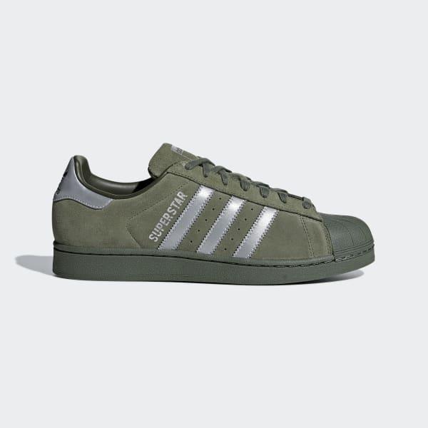 Superstar Shoes Green B41988