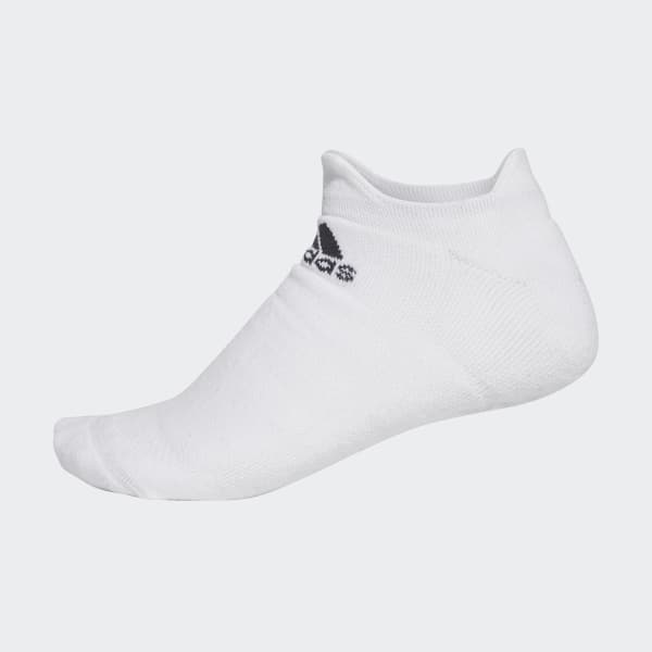 Alphaskin Maximaal Dempende No-Show Sokken wit CV7591
