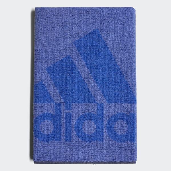 adidas Handdoek Small paars DH2861