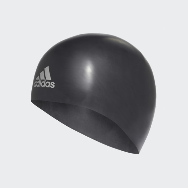 premoulded 3D swim cap Black M34112