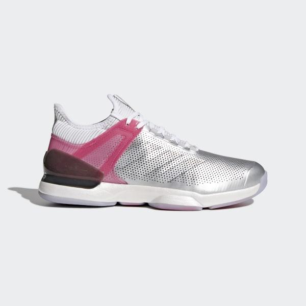 Adizero Ubersonic 2.0 LTD Shoes Silver CM7748