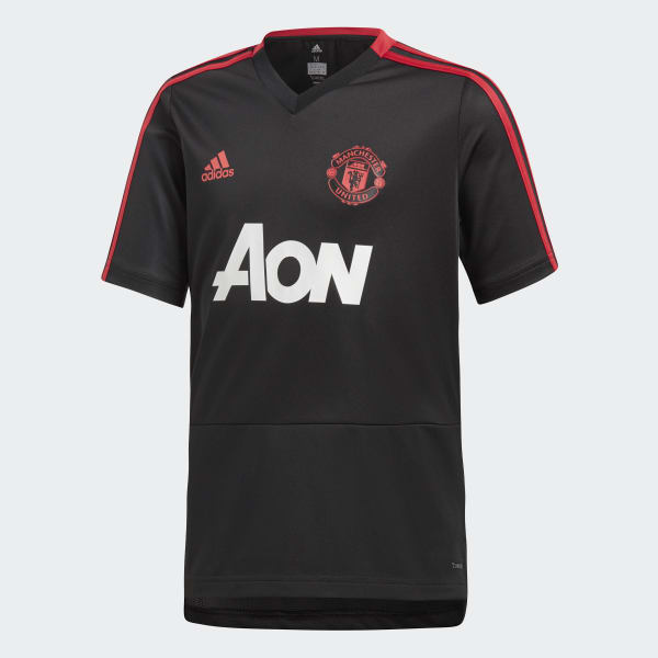 Manchester United Training Jersey Black CW7611