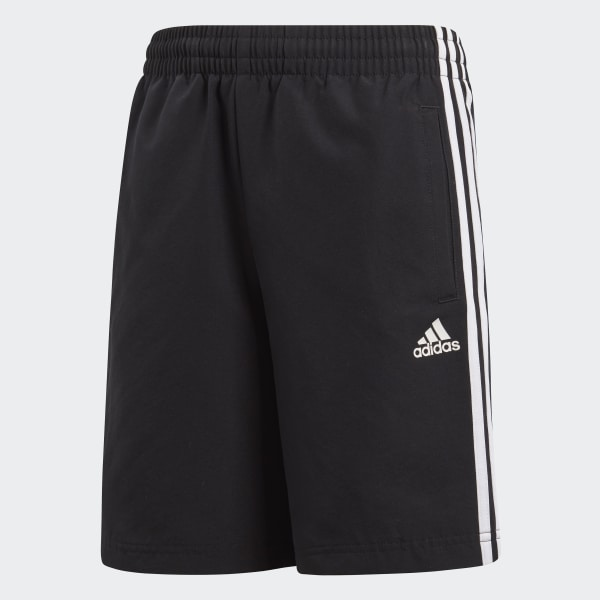 Essentials 3-Stripes Shorts Black BQ2828