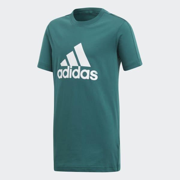 Essentials Logo T-Shirt grün DJ1773
