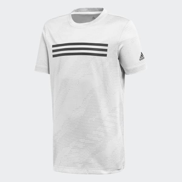 T-shirt Training Brand Bianco DJ1151
