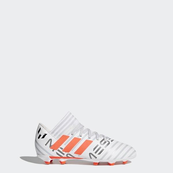 Nemeziz Messi 17.3 Firm Ground Boots White BY2412