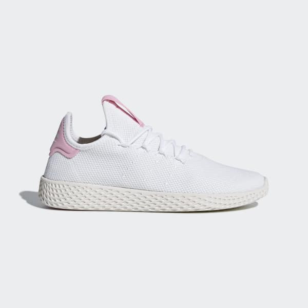 Scarpe Pharrell Williams Tennis Hu Bianco DB2558
