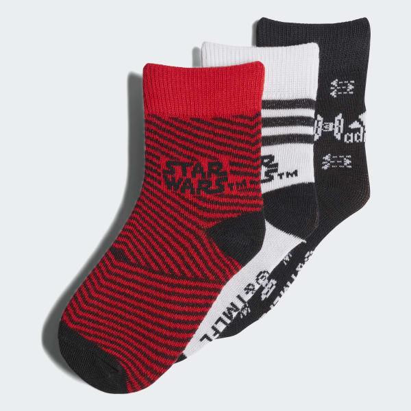 Lucas Star Wars Socken, 3 Paar rot CV7174