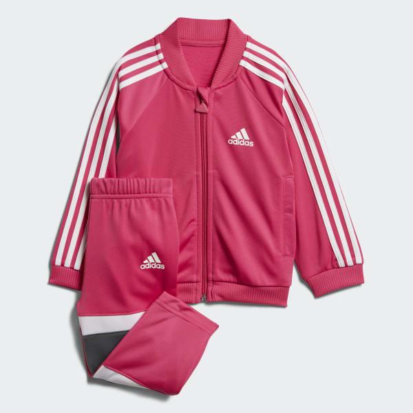 Glanzend Trainingspak roze DJ1586