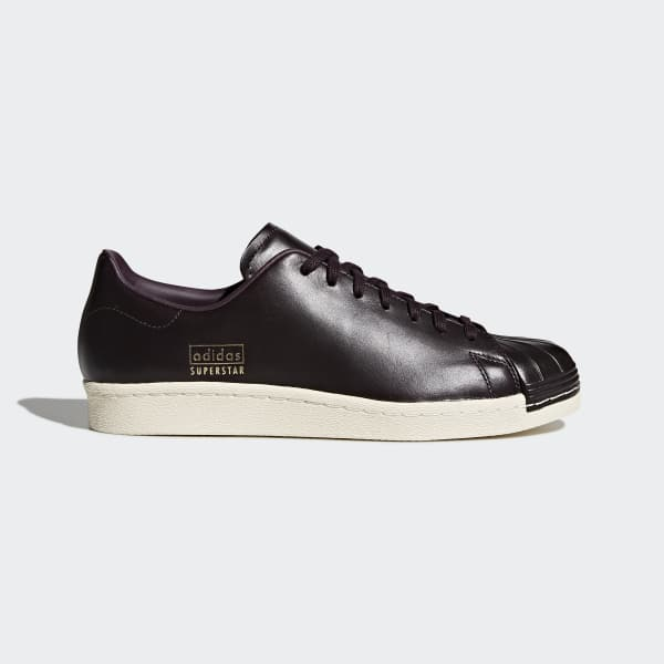 Chaussure Superstar 80s Clean marron CQ2170