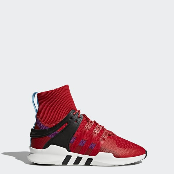 Chaussure EQT Support ADV Winter rouge BZ0640