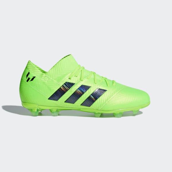 Nemeziz Messi 18.1 Firm Ground Boots Green DB2361