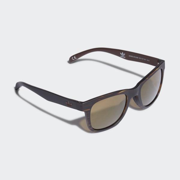 AOR004 Sonnenbrille Braun-Schwarz CK4830