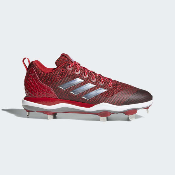PowerAlley 5 Cleats Red B39182