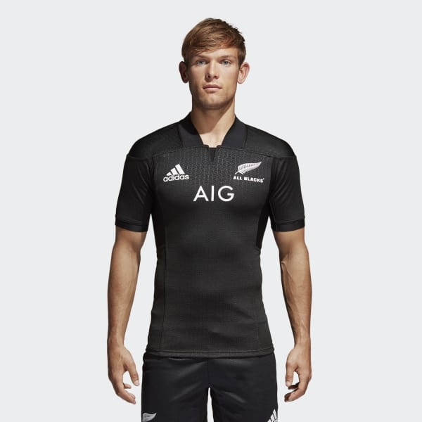 All Blacks Performance Thuisshirt zwart AP5665