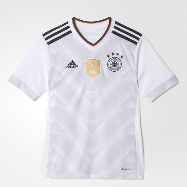 Camiseta Local Selección de Alemania Blanco B47863