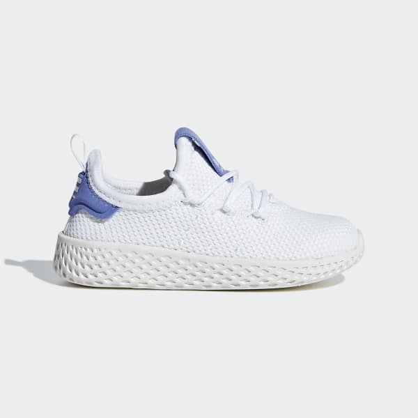 Pharrell Williams Tennis Hu Shoes White CG6240