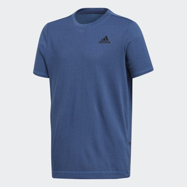 T-shirt Training Knit Blu CF7112
