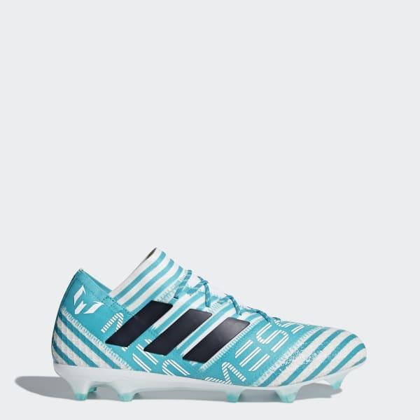 Chaussure Nemeziz Messi 17.1 Terrain souple turquois BY2406