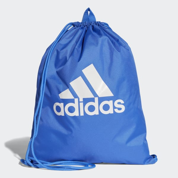 Mochila saco Performance Logo Azul CF5021