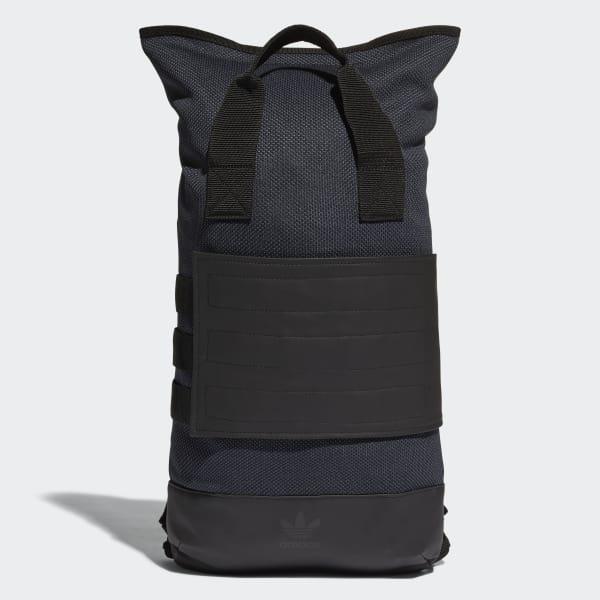 Roll-Top Rucksack schwarz BR5337