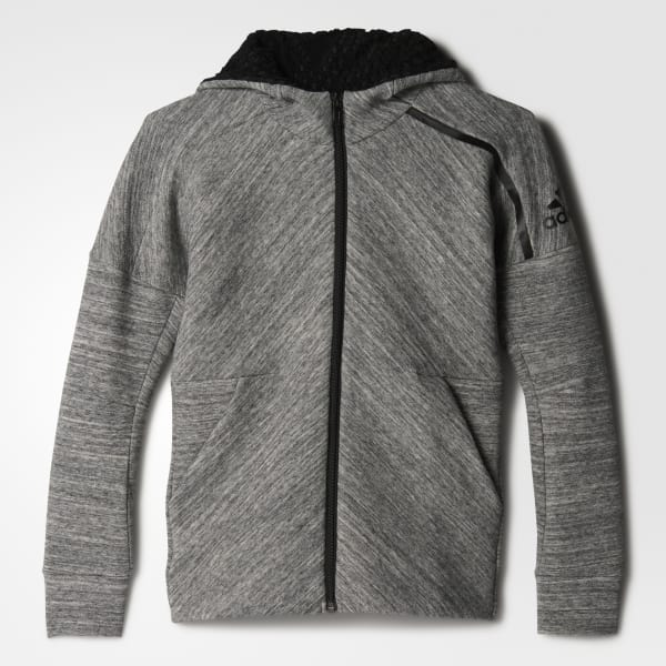 adidas Z.N.E. Travel Hoodie Grey BP8657