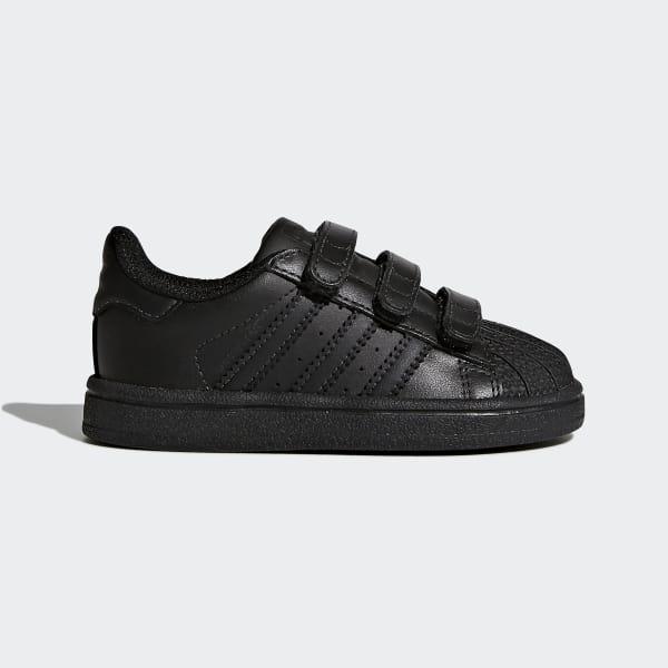 Superstar Schuh schwarz BZ0417