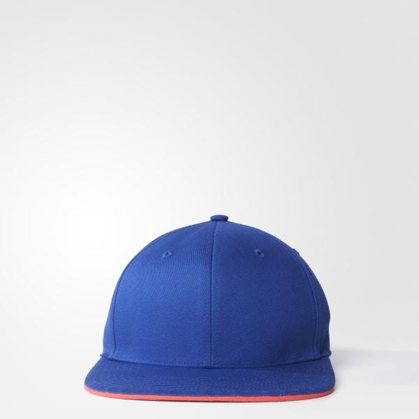 adidas STELLASPORT Embroidered Kappe blau AX8711