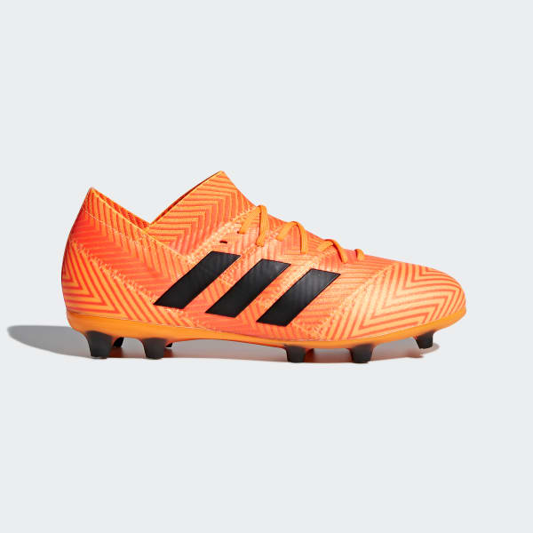 Chaussure Nemeziz 18.1 Terrain souple orange DB2350