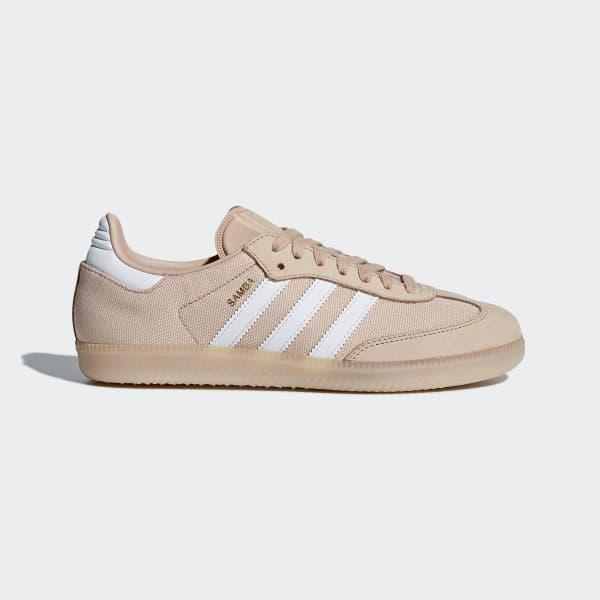 Samba Schoenen roze CQ2643