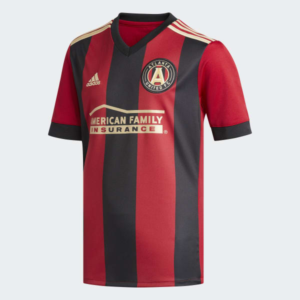 Atlanta United Home Jersey Red BR9776