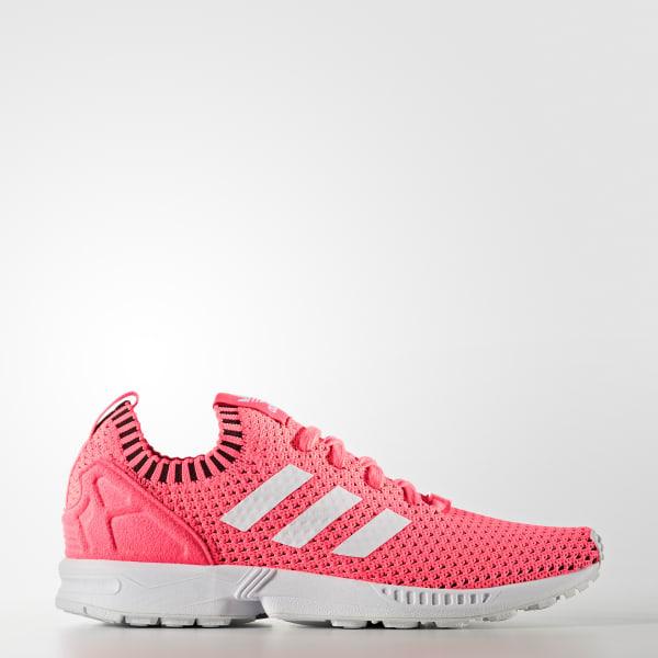 ZX Flux Primeknit Shoes Pink BA7375