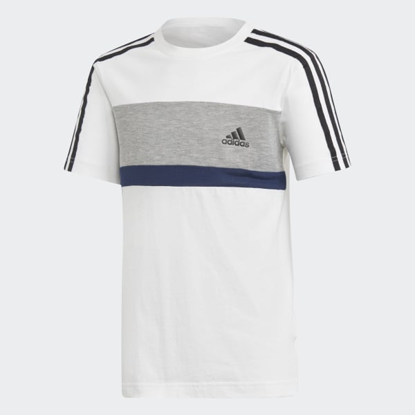 Camiseta Sport ID Fleece Blanco DI0205