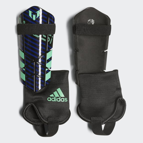 Messi 10 Shin Guards Blue CF0117