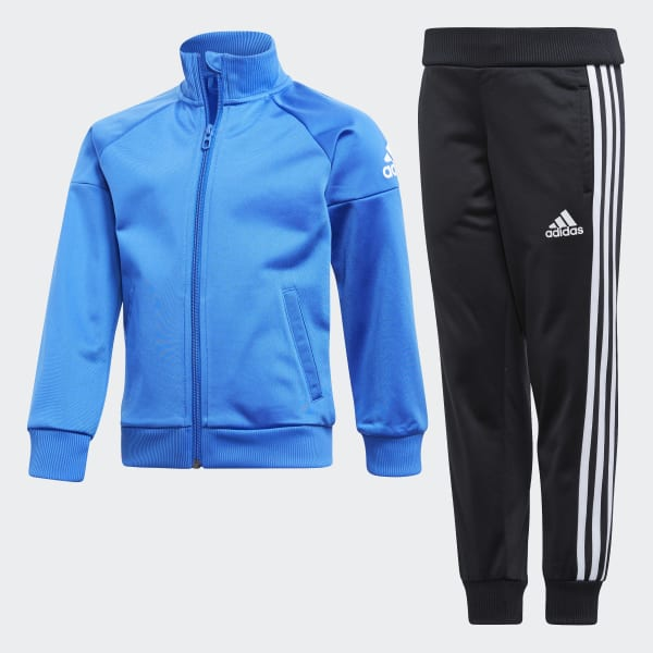 Little Boys Knitted Tracksuits Blue CF6609