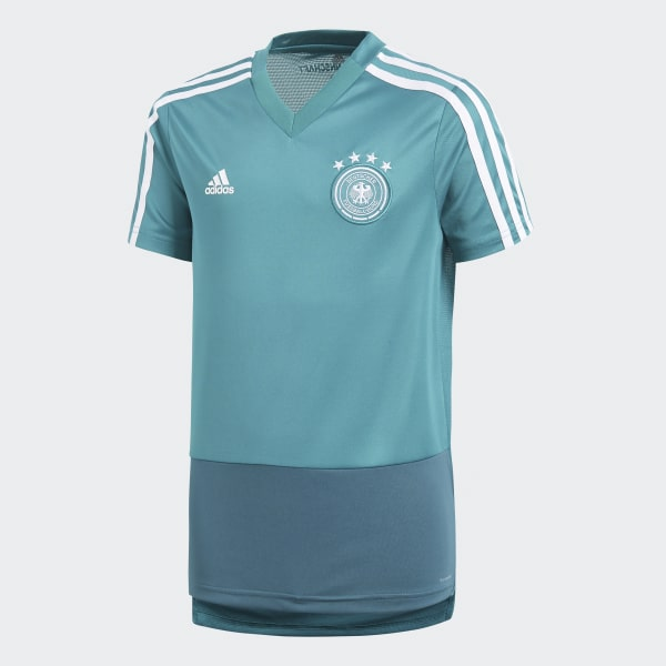 Camiseta entrenamiento Alemania Turquesa CE6606