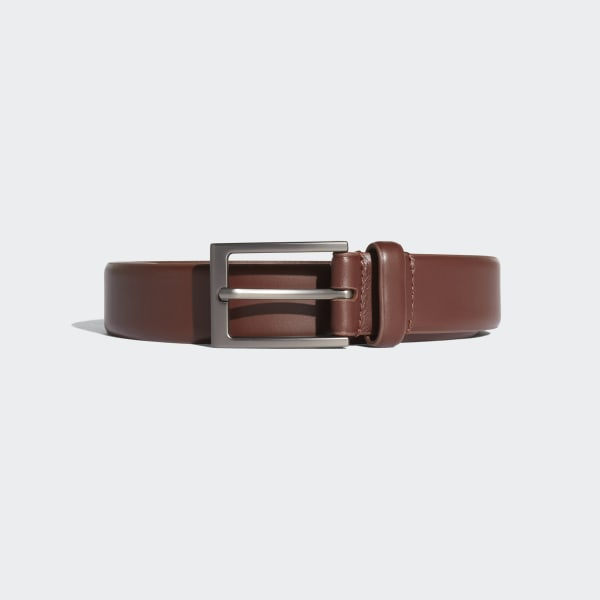 Adipure Leather Belt Brown CY7562