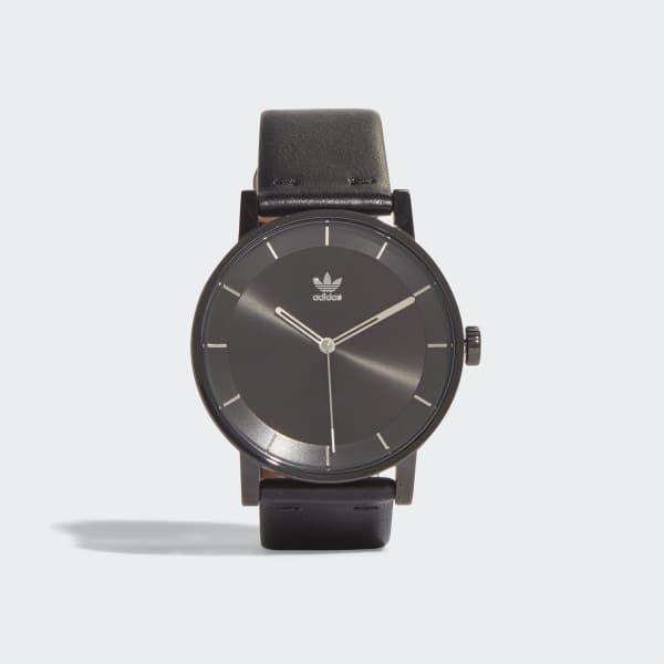 DISTRICT_L1 Uhr schwarz CJ6331