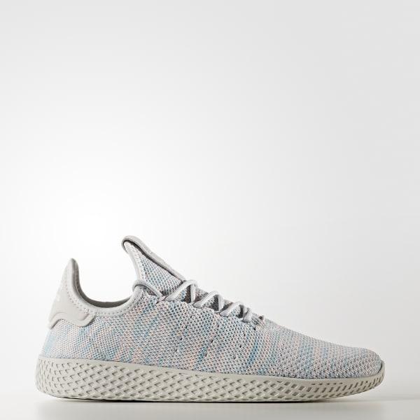Pharrell Williams Tennis Hu Shoes Blue BY2671