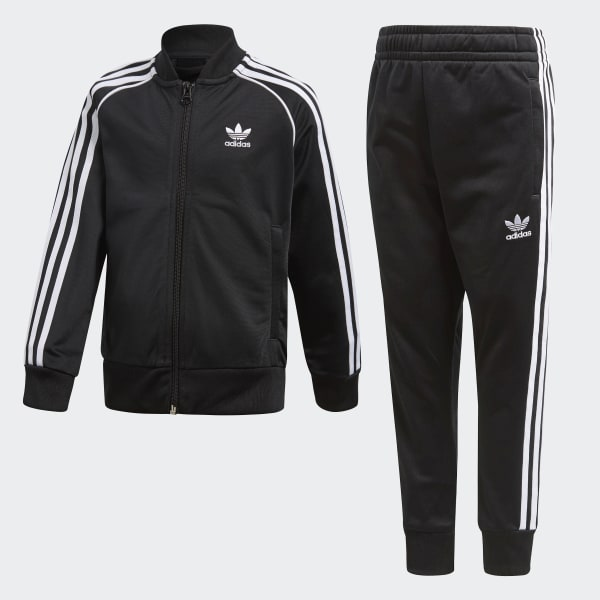 Trefoil SST Track Suit Black CD8443