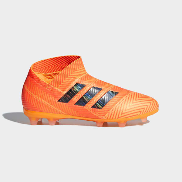 Nemeziz 18+ FG Fußballschuh orange DB2347