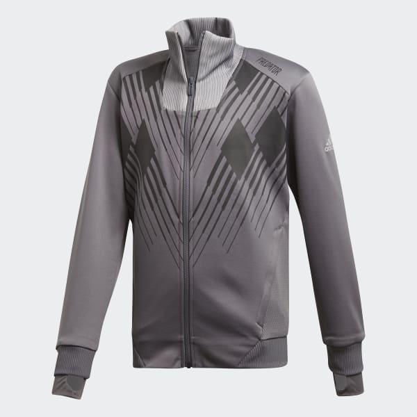 Predator Track Jacket Grey DJ1246