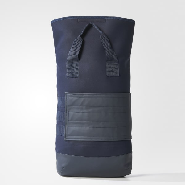 Roll-Top Backpack Blue BQ8139