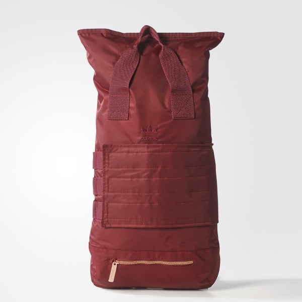 Roll-Top Rucksack rot BR4802