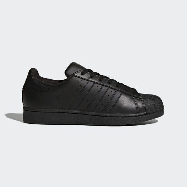 Superstar Foundation Shoes Preto AF5666