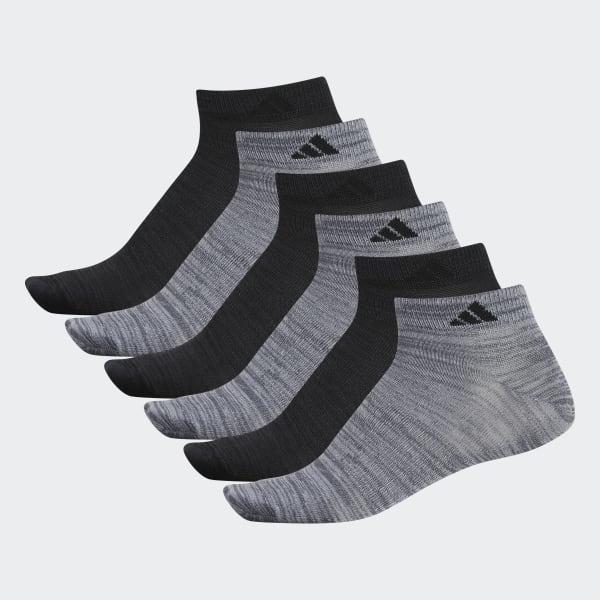 Superlite Low-Cut Socks 6 Pairs Grey CI0651