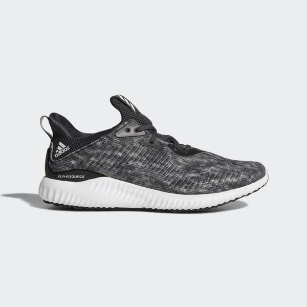 Alphabounce Space Dye Shoes Black CQ0777
